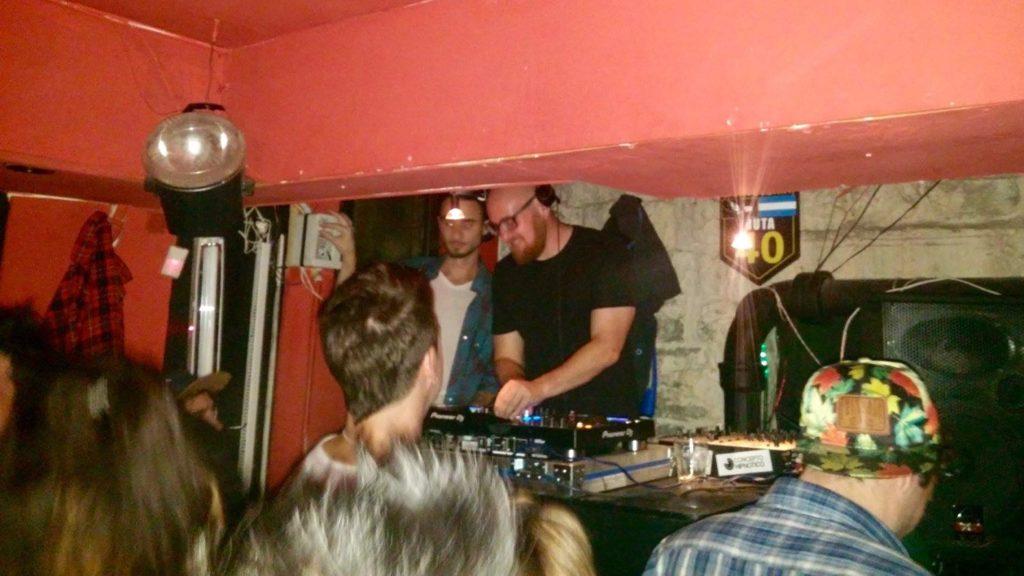 Will Spencer DJ in Bariloche