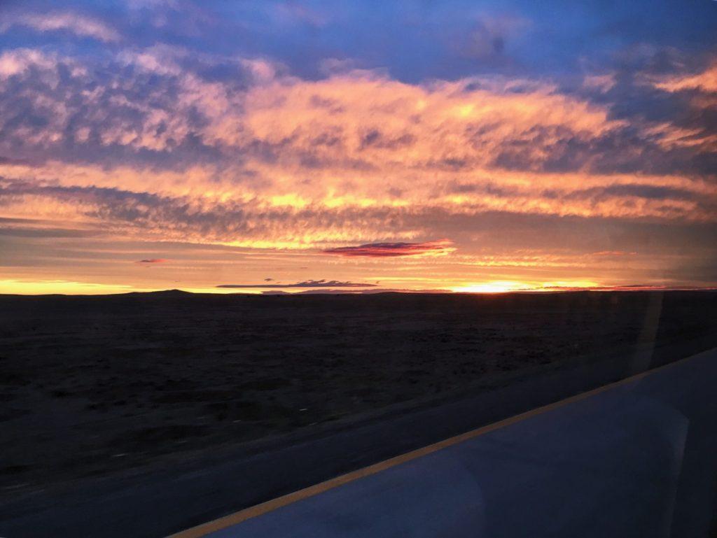 Tierra Del Fuego Sunset