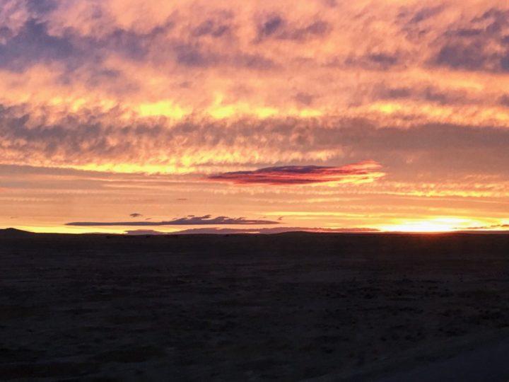 Sunset Over Tierra Del Fuego