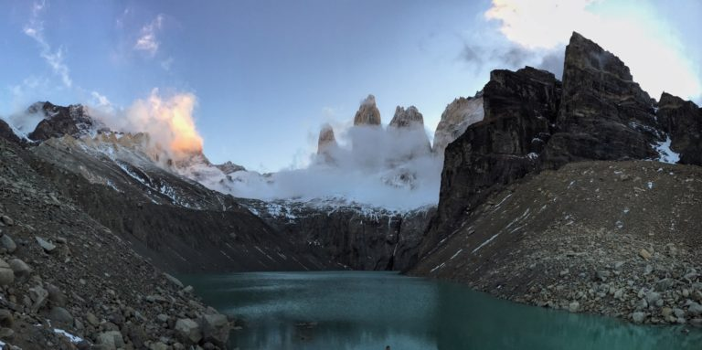 Torres Del Paine Sunset