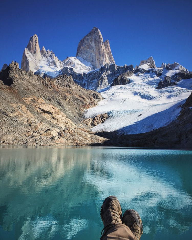 My Feet at Fitz Roy