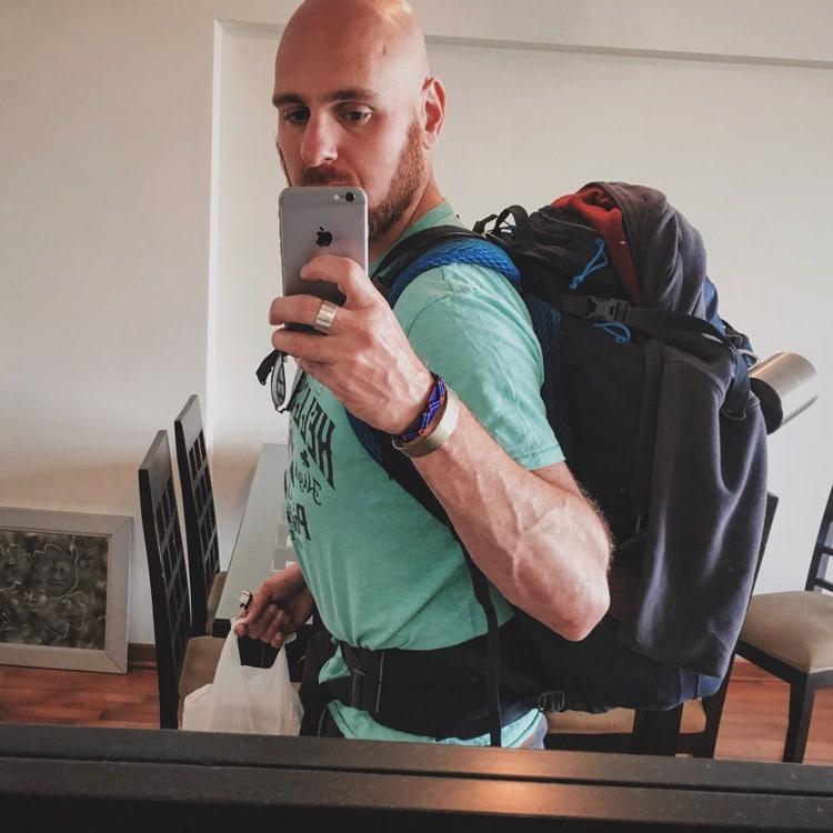 Departing Lima