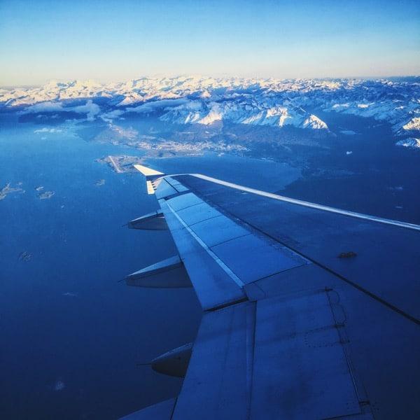 Ushuaia from the Sky