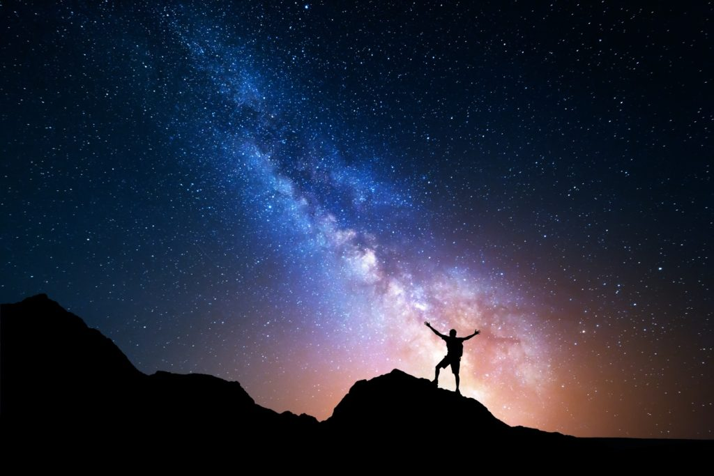Man with Stars