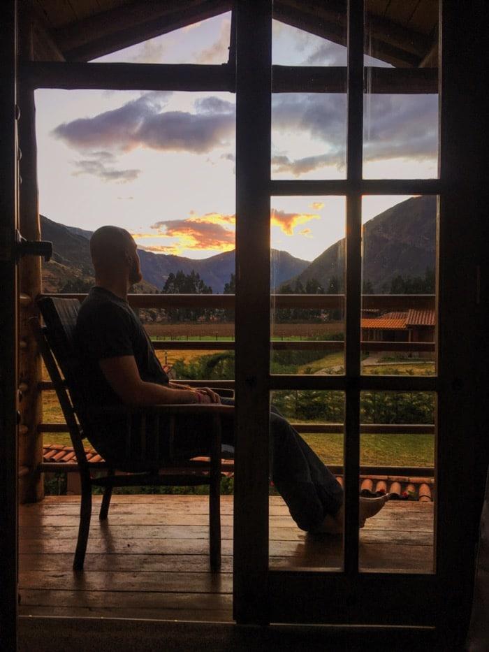 Pondering in Pisac.