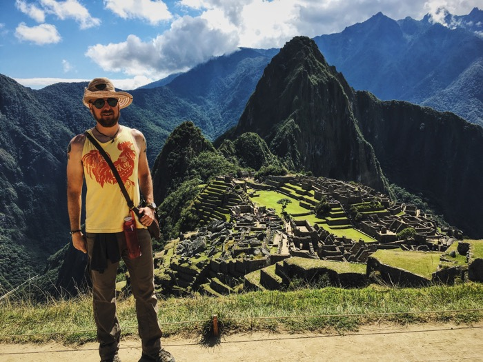 Adventurous at Macchu Picchu