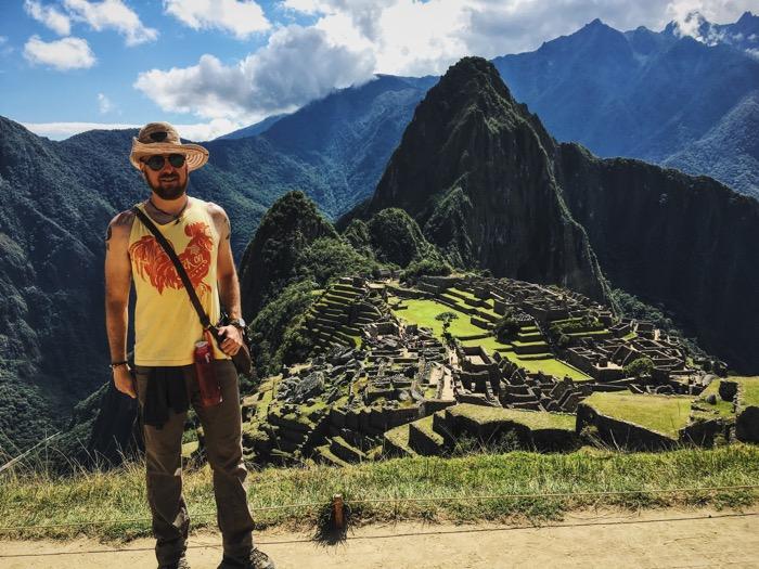 Adventurous at Macchu Picchu