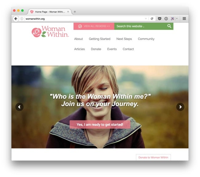 Woman Within Homepage