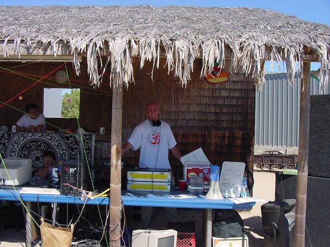 Me DJ'ing at Stargaze 9