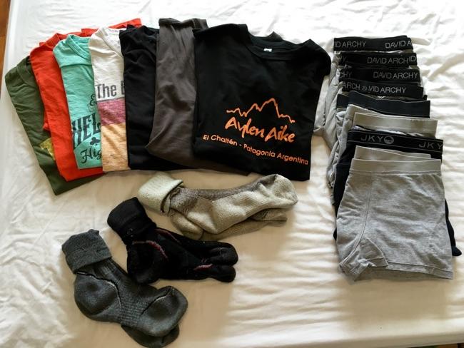Shirts, Socks, Underwear