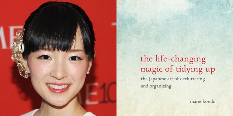 Marie Kondo and her book