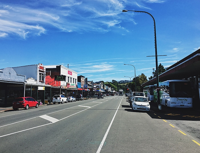Downtown Taumarunui