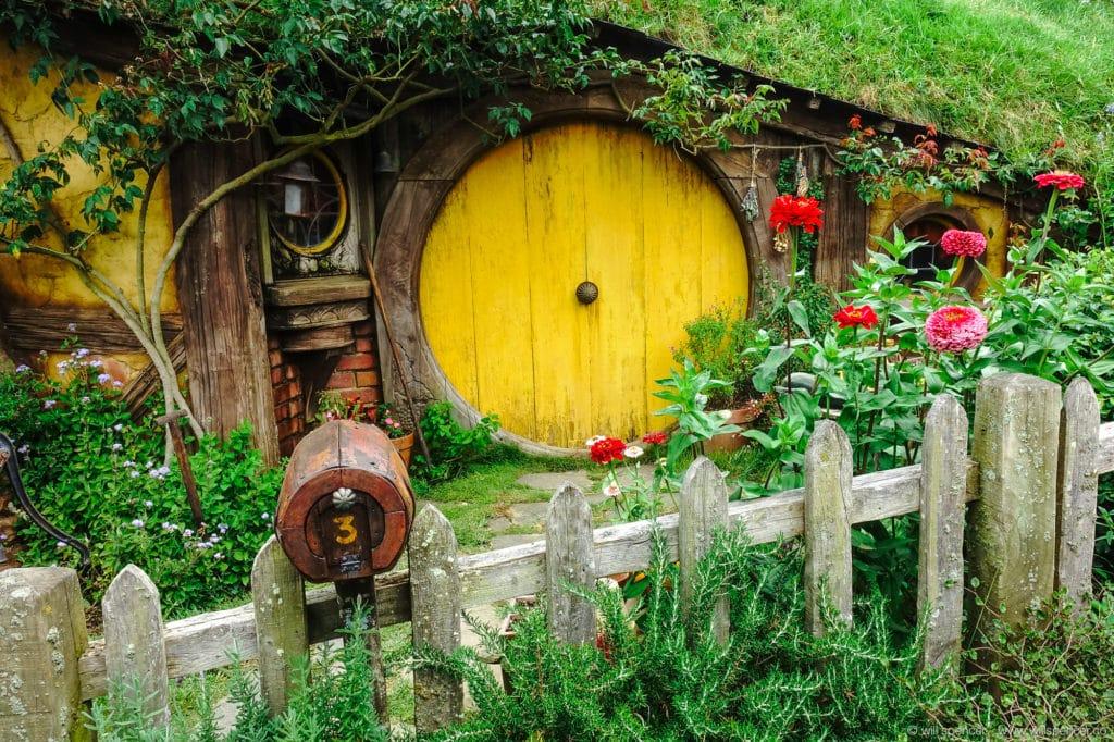Samwise Gamgee's front door.
