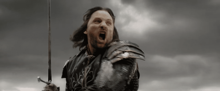 Aragorn charge