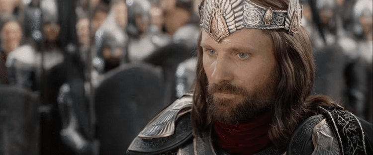 Aragorn afraid