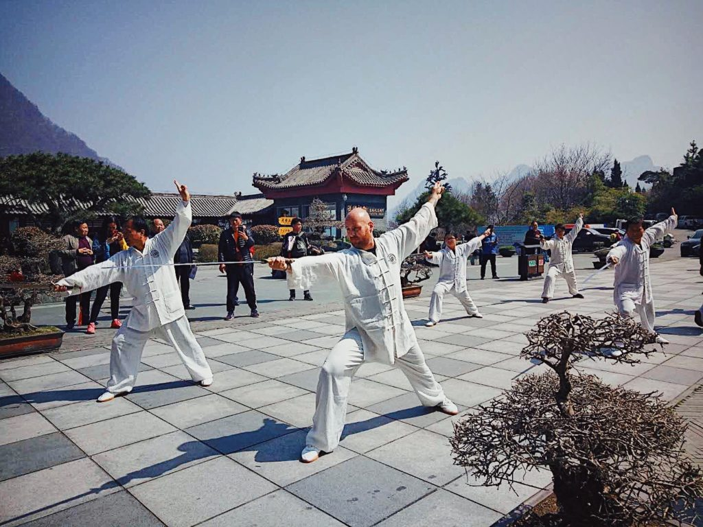 Speechless in Wudangshan