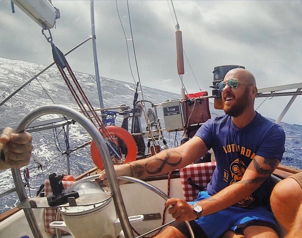 Sailing off the coast of Vanuatu (2018)