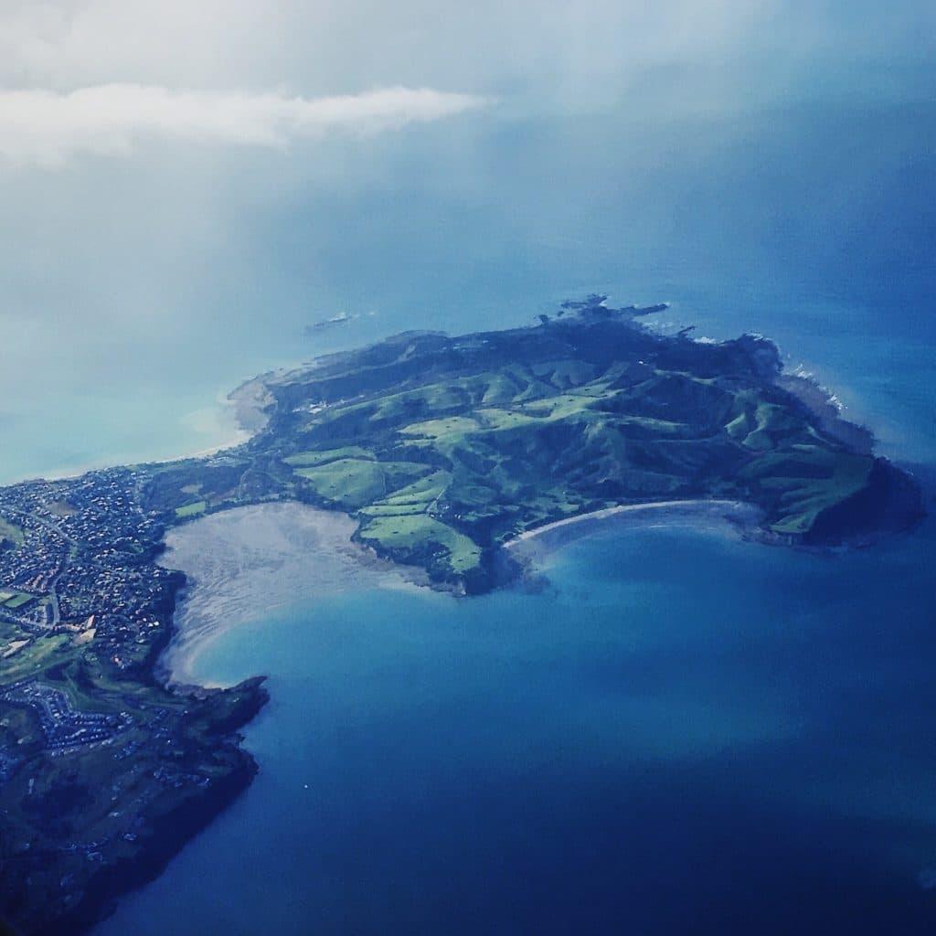 Whangaparoa Peninsula by air