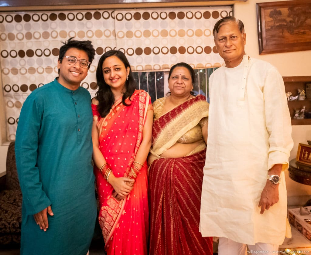 Prakash Kutir family