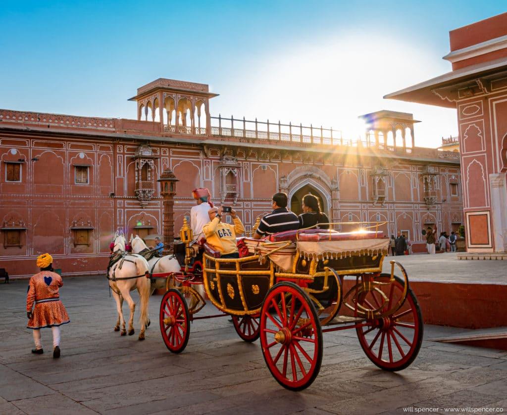 Jaipur carriage ride