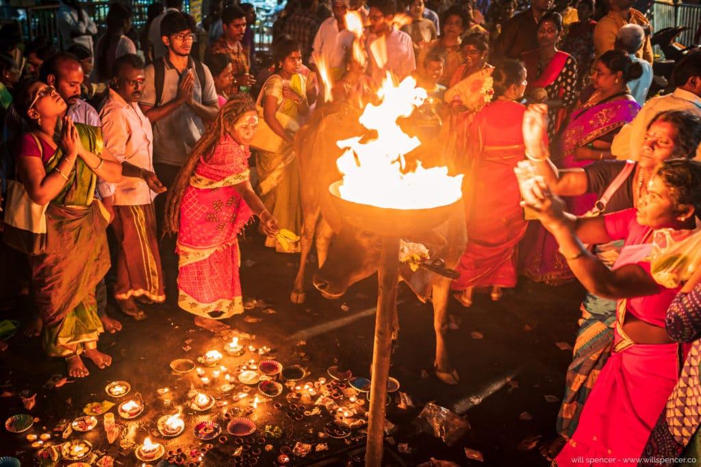 Shivratri fire