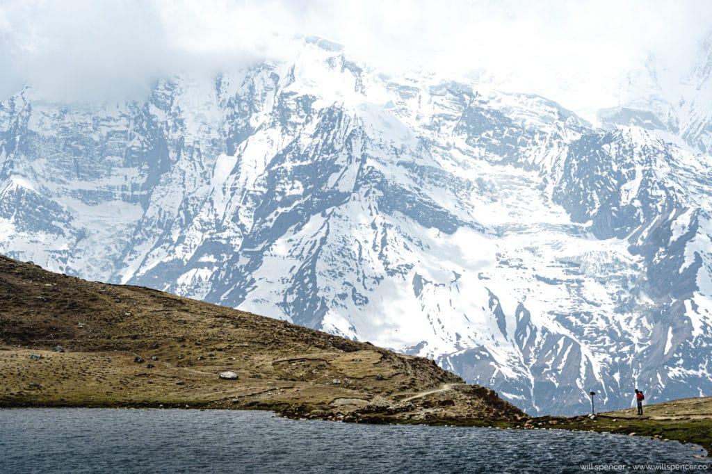 Annapurna mountain landscape