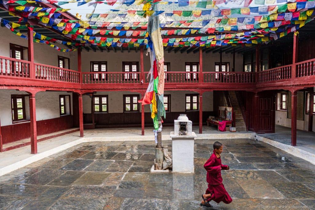 Marpha monastery