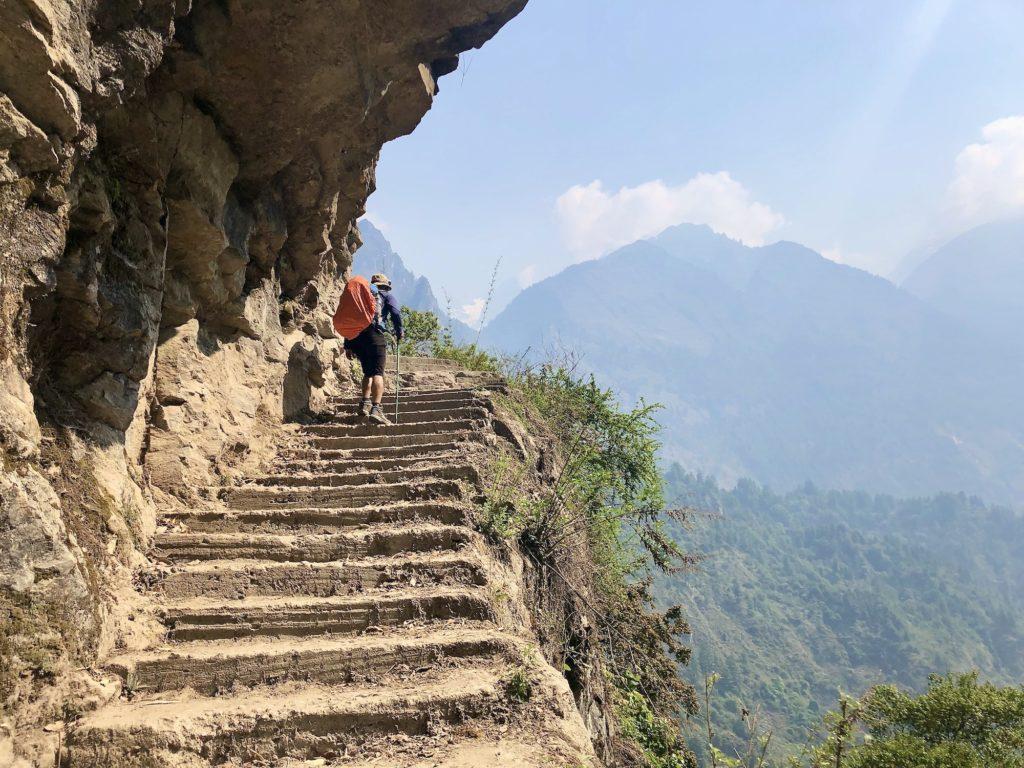 Chame steps