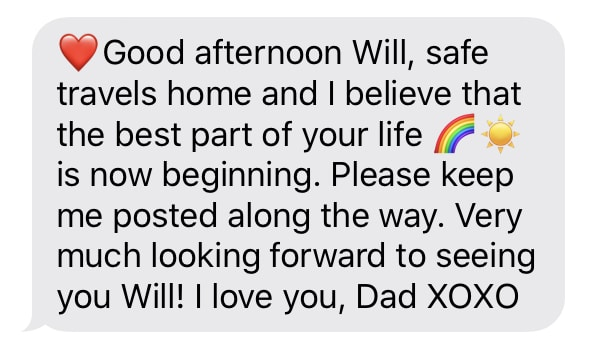 text from dad