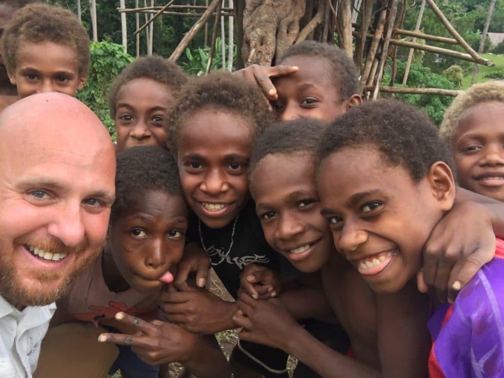 Boys in Vanuatu