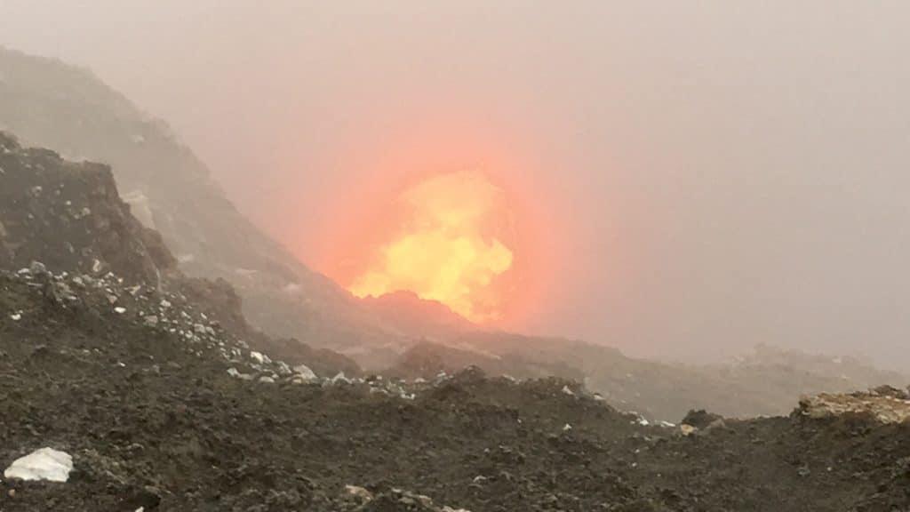 The fires of Ambrym Volcano, Vanuatu
